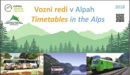 Timetables in the Slovenia Alps 2018
